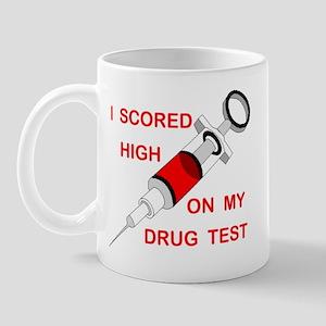 DRUG TEST Mug