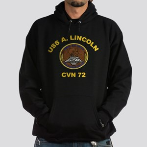 CVN 72 USS Abraham Lincoln Hoodie