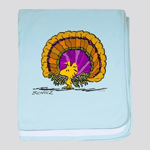 Woodstock Turkey baby blanket