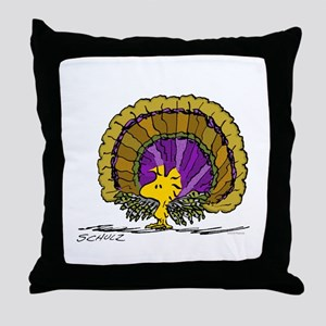 Woodstock Turkey Throw Pillow