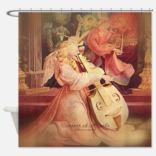 Concert of Angels Shower Curtain
