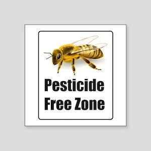 No Pesticides - Protect Bees Sticker