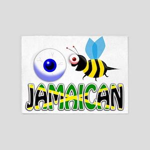 I BE JAMAICAN 5'x7'Area Rug