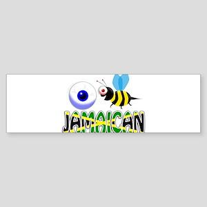 I BE JAMAICAN Bumper Sticker