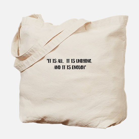 It is all Outlander Tote Bag