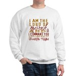 Lord of Misrule/Twelfth Night Sweatshirt