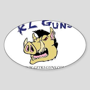 KL Guns Logo Sticker