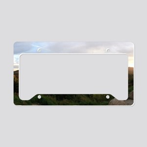 Mountain Scape License Plate Holder