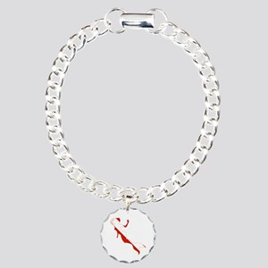 Mermaid Diver Charm Bracelet, One Charm