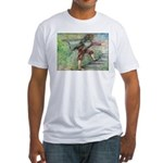 """""""Flight"""" Fitted T-shirt (Made in the USA"""