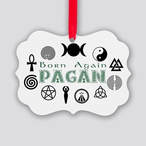 Born Again Picture Ornament