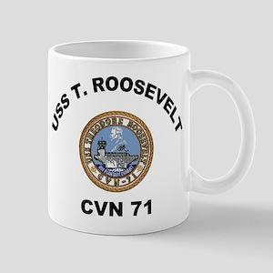 USS T Roosevelt CVN 71 Mugs