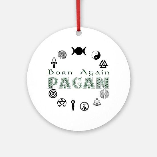 Born Again_button.png Ornament (Round)