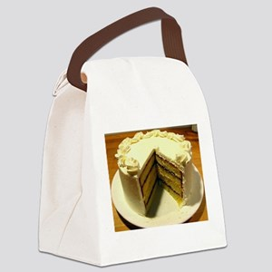 Cake Canvas Lunch Bag