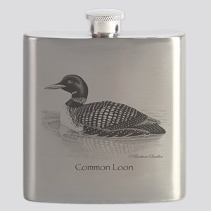 Common Loon Flask