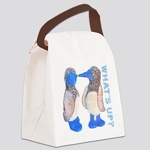whats up blue footed boobie Canvas Lunch Bag