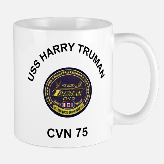 USS Harry Truman CVN 75 Mugs
