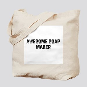 Awesome Soap Maker Tote Bag