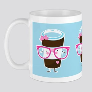 Nerdy Kawaii Coffee Mug