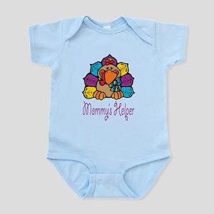 Mommys helper Rainbow Turkey Body Suit