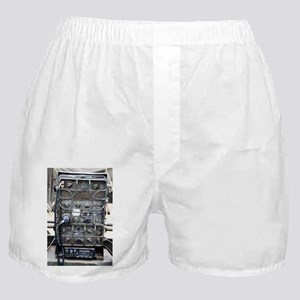 Vintage army radio design Boxer Shorts