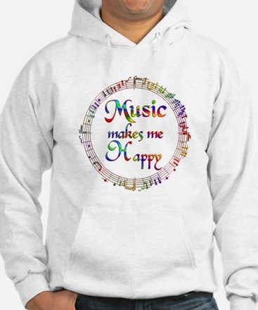 Music makes me Happy Jumper Hoody