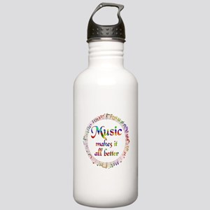 Music Makes it Better Stainless Water Bottle 1.0L