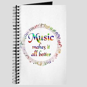 Music Makes it Better Journal