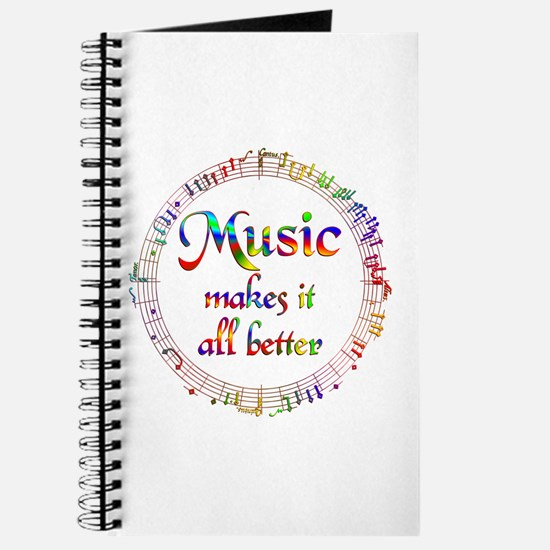 Music Makes it Better Journal