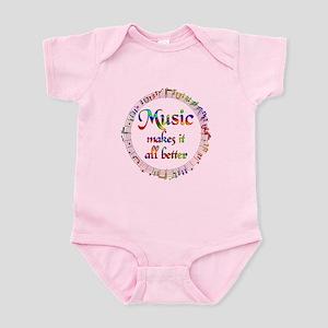 Music Makes it Better Infant Bodysuit