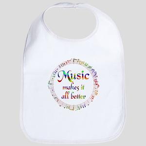Music Makes it Better Bib