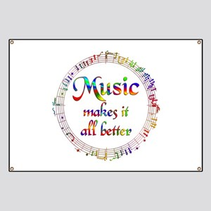 Music Makes it Better Banner