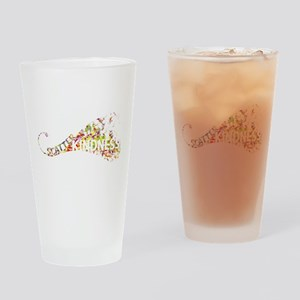 Scatter Kindness Drinking Glass