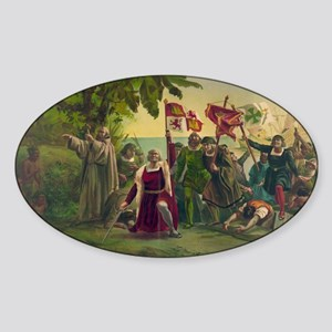 Christopher Columbus Sticker