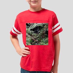 Rainforest Waterfall Youth Football Shirt