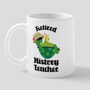 Retired History Teacher Mug