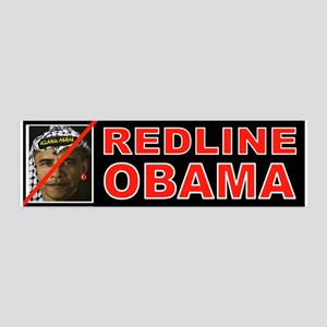 REDLINE OBAMA Wall Decal