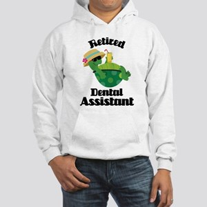Retired Dental Assistant Hooded Sweatshirt