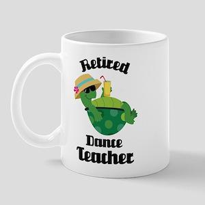 Retired Dance Teacher Mug