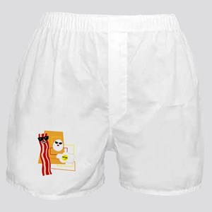 Cool Bacon and Eggs Boxer Shorts