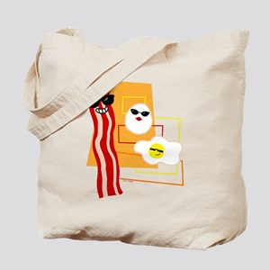 Cool Bacon and Eggs Tote Bag