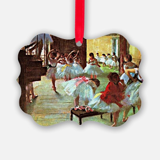 Ballet School, painting by Edgar  Ornament