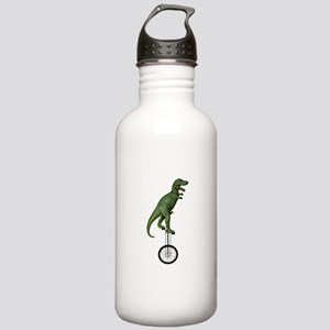 T-rex Riding Unicycle Stainless Water Bottle 1.0L
