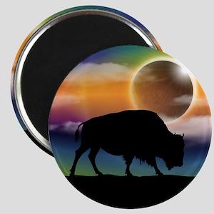 Buffalo Eclipse Magnets
