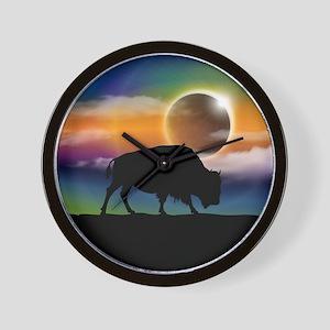 Buffalo Eclipse Wall Clock