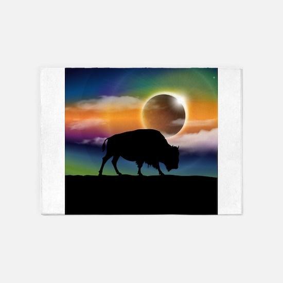 Buffalo Eclipse 5'x7'Area Rug