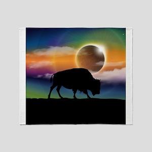 Buffalo Eclipse Throw Blanket