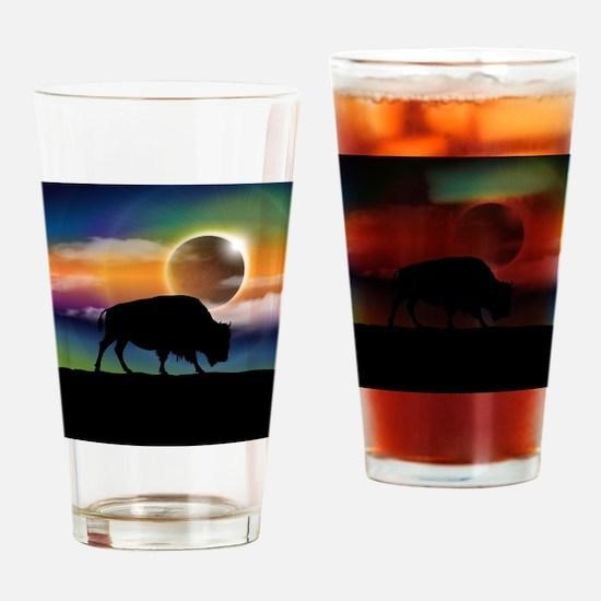 Buffalo Eclipse Drinking Glass