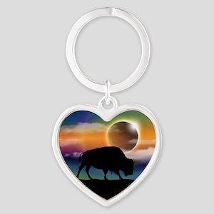 Buffalo Eclipse Keychains