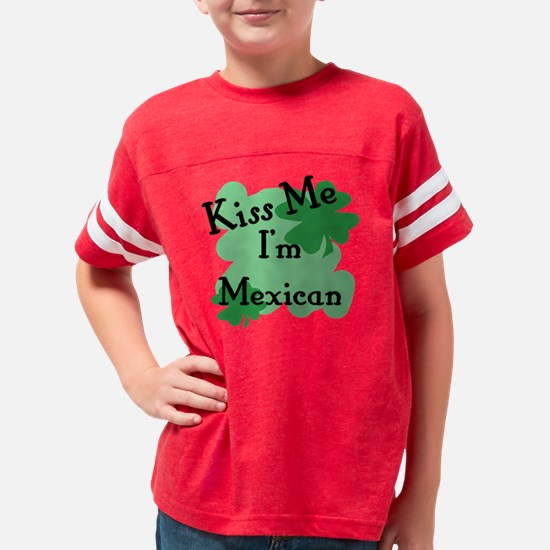 Unique I am mexican Youth Football Shirt